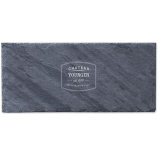 Better With Time Personalized Slate Tray,