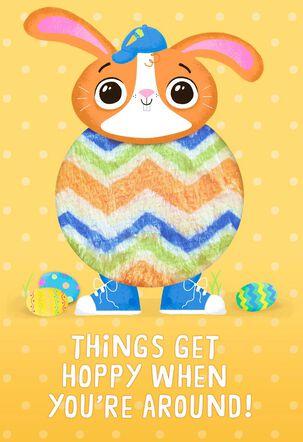 Hoppy Day Easter Card