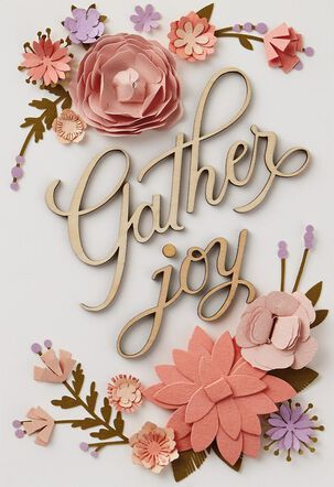 Gather Joy Blank Card