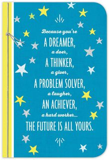 The Future Is Yours Graduation Card,