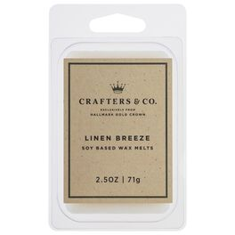 Crafters & Co. Linen Breeze Wax Melt, 2.5-oz, , large