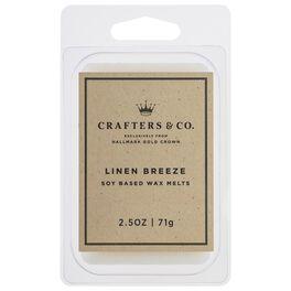Crafters & Co. Linen Breeze Wax Melt, 2.5-oz, , large