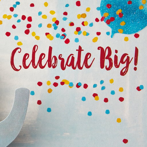 Celebrate Big Circus Pop Up Birthday Card