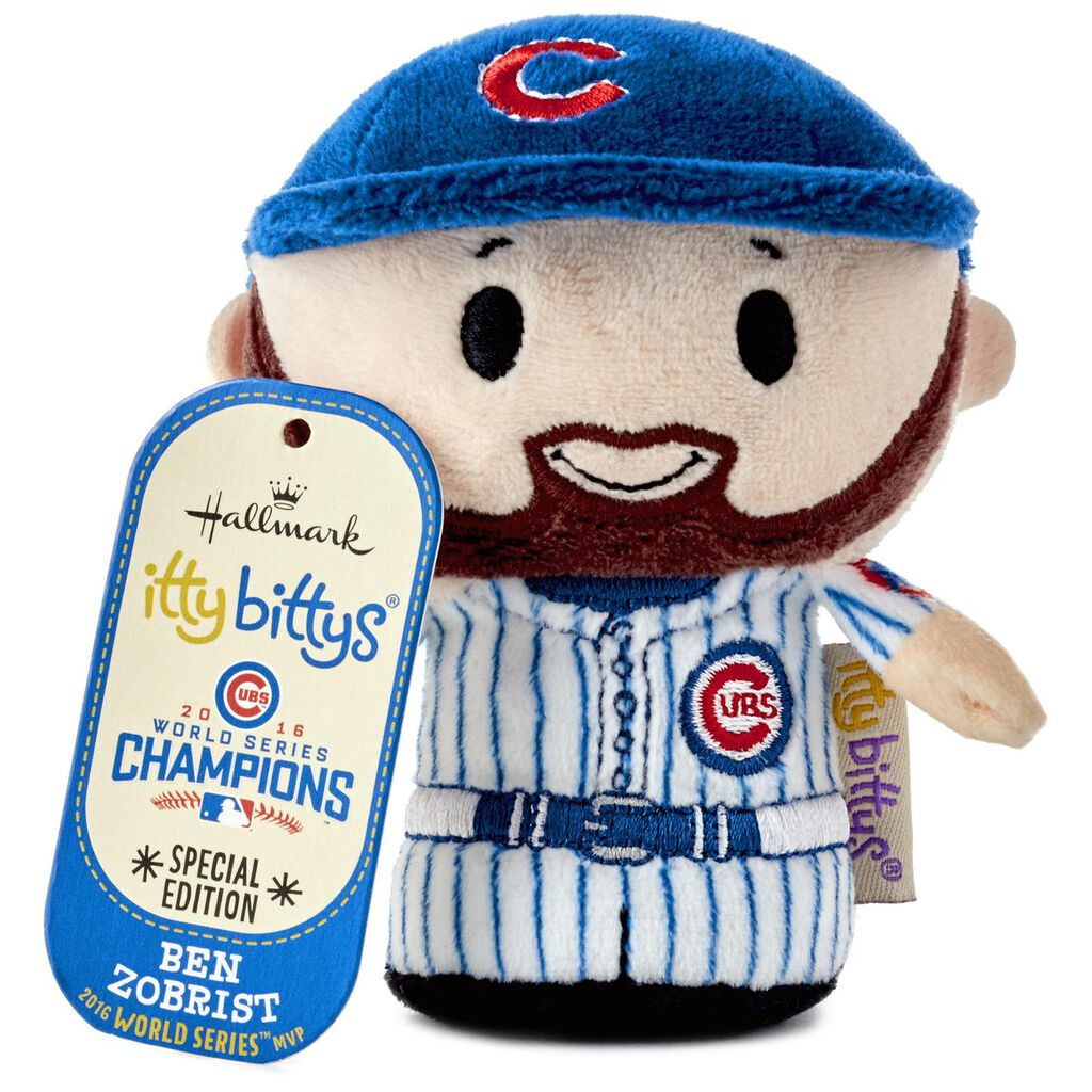 5f99ff78f71 ... MLB Chicago Cubs™ Ben Zobrist itty bittys® Stuffed Animal Limited  Edition ...