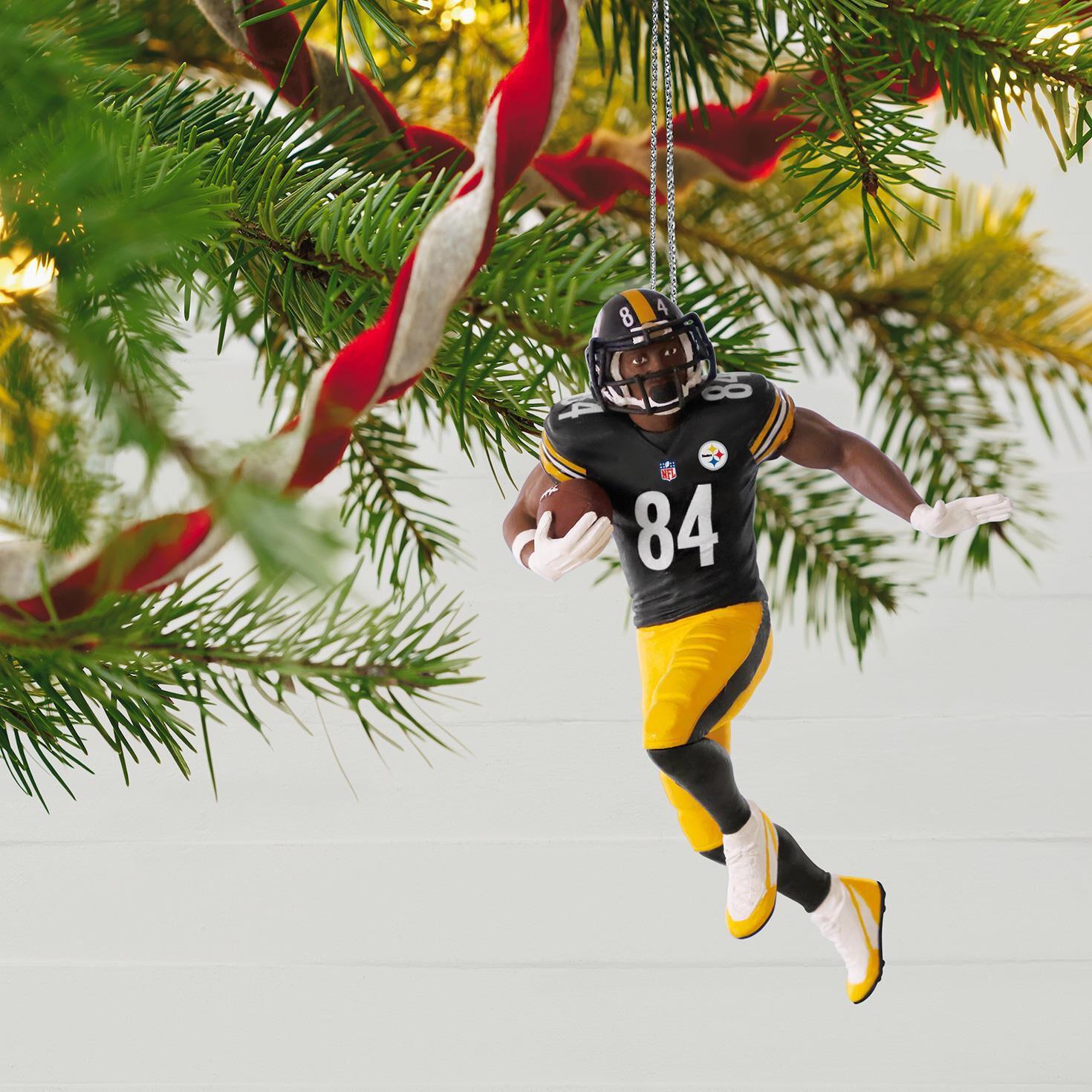 NFL Pittsburgh Steelers Antonio Brown Ornament - Keepsake ...