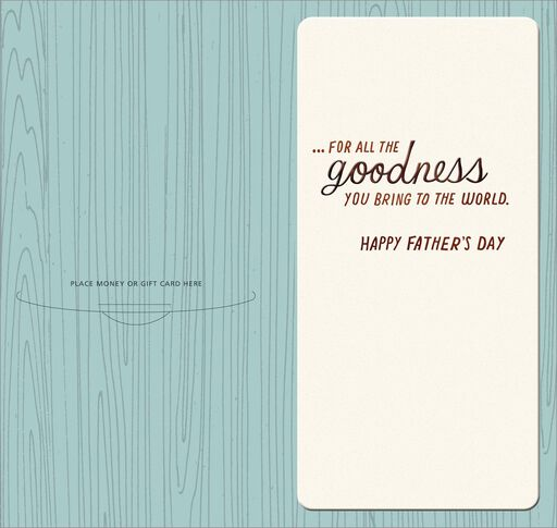 Branches Money Holder Father's Day Card,