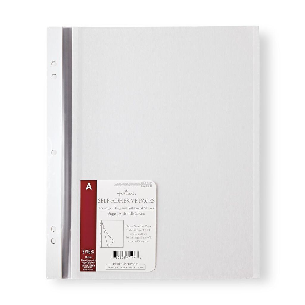 Large Self Adhesive Refill Pages Photo Albums Hallmark