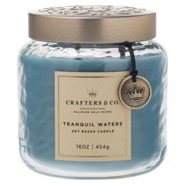 Crafters & Co. Tranquil Waters Candle, 16-oz, , large