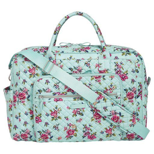 85ea22616 Vera Bradley Iconic Weekender Travel Bag in Pretty Posies - Travel ...