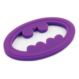 BATMAN™ Silicone Teether by Bumkins, Purple, , large