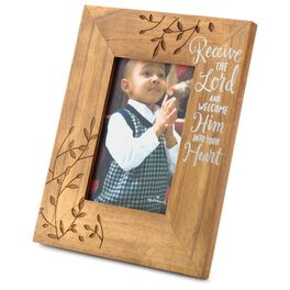Receive the Lord Picture Frame, 4x6, , large
