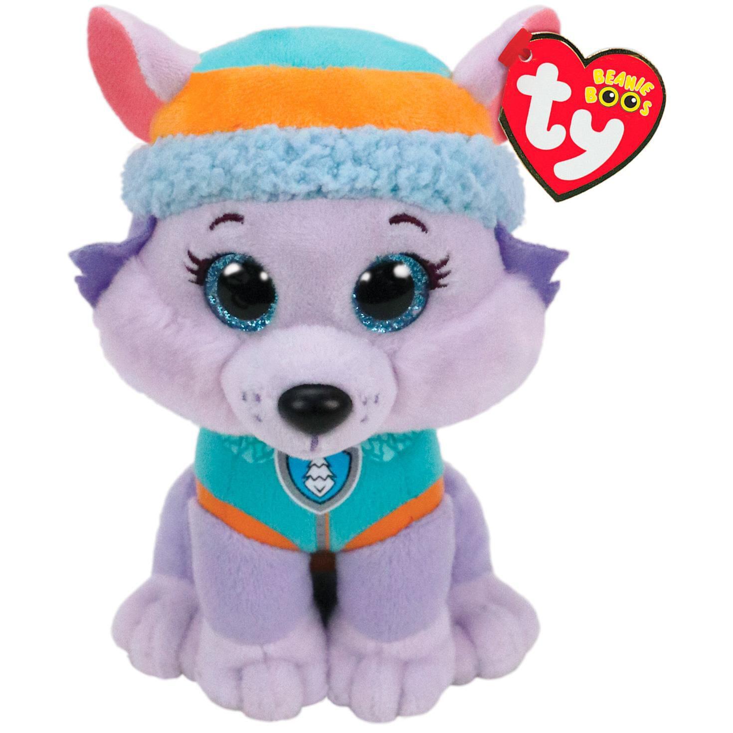 Ty Paw Patrol Everest Husky Dog Stuffed Animal 6 Classic Stuffed