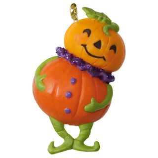 Pint-Sized Pumpkin Mini Halloween Ornament,