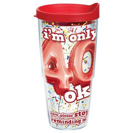 Tervis® 40th Birthday Tumbler, 24 oz., , large
