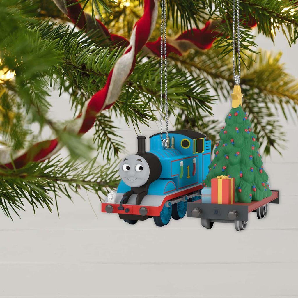 Thomas The Tank Engine A Tree For Thomas Ornament Set Of 2