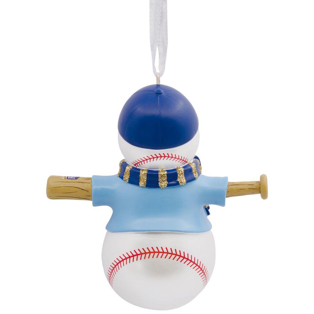MLB Kansas City Royals™ Baseball Snowman Hallmark Ornament - Gift ...
