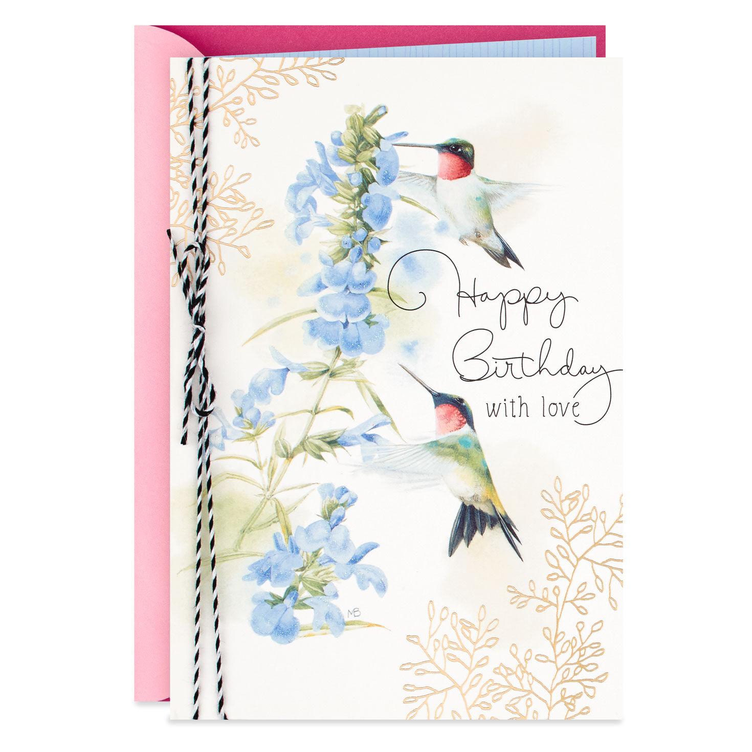 Happy Birthday Cheery Butterfly Monarch Marjolein Bastin Hallmark Card