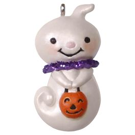Teensy-Weensy Ghost Mini Halloween Ornament, , large