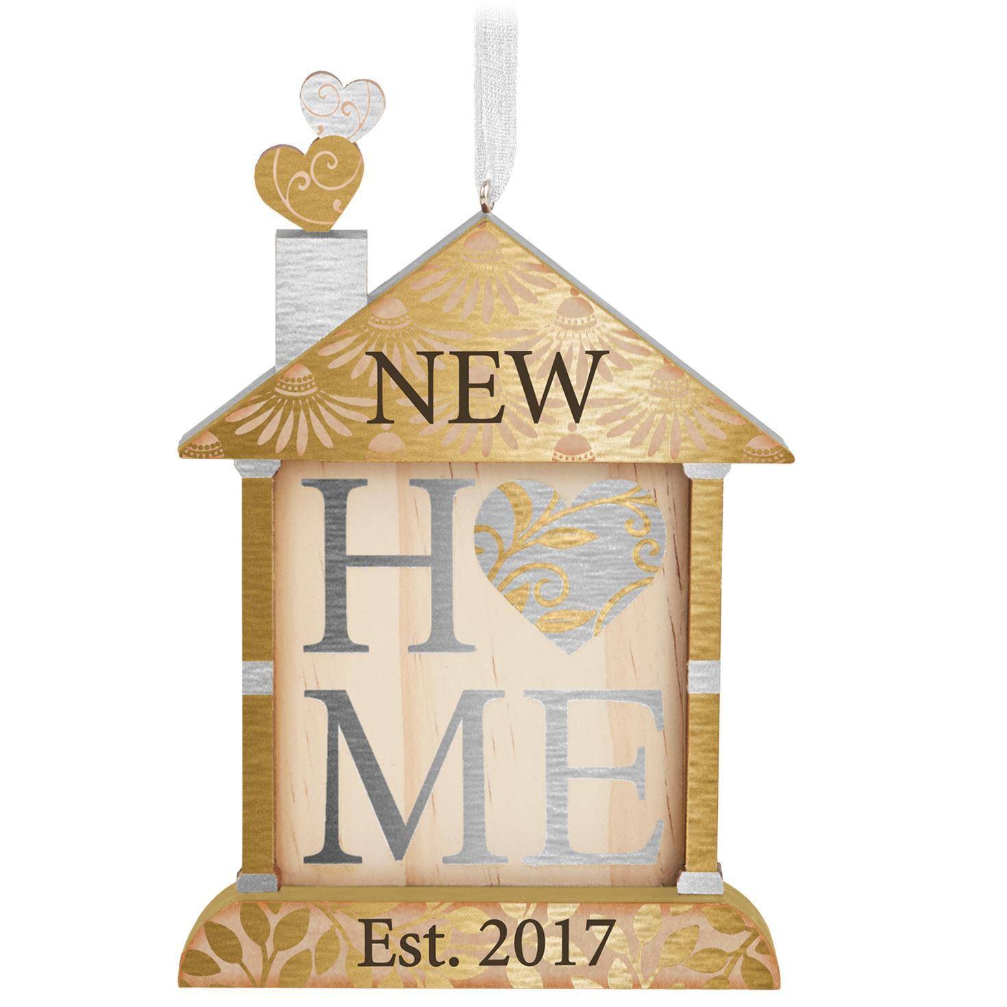 new home 2017 ornament hallmark