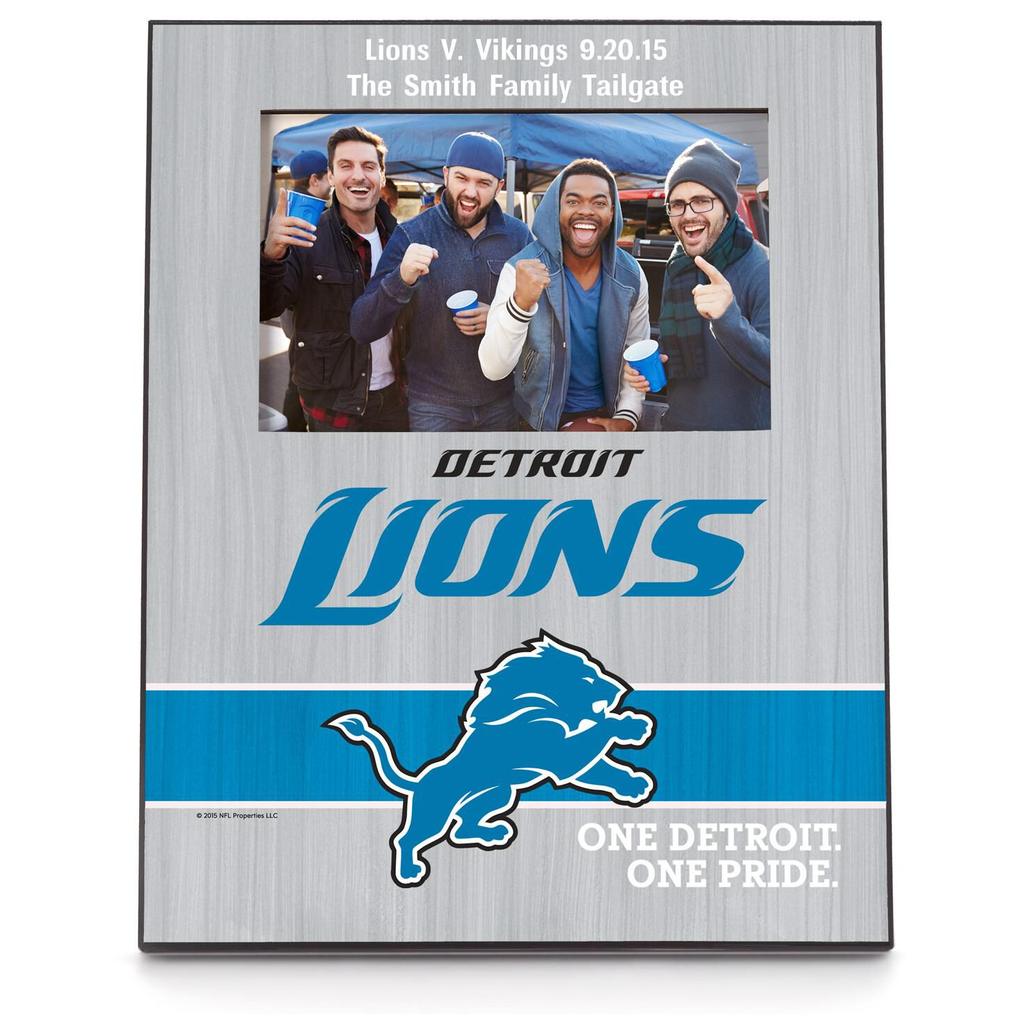 Detroit lions personalized 4x6 picture frame personalized home detroit lions personalized 4x6 picture frame personalized home decor hallmark jeuxipadfo Image collections