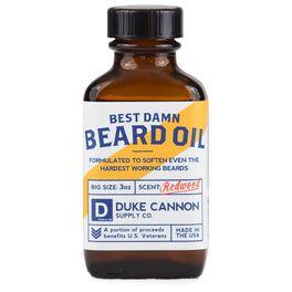 Duke Cannon Best Damn Beard Oil, , large