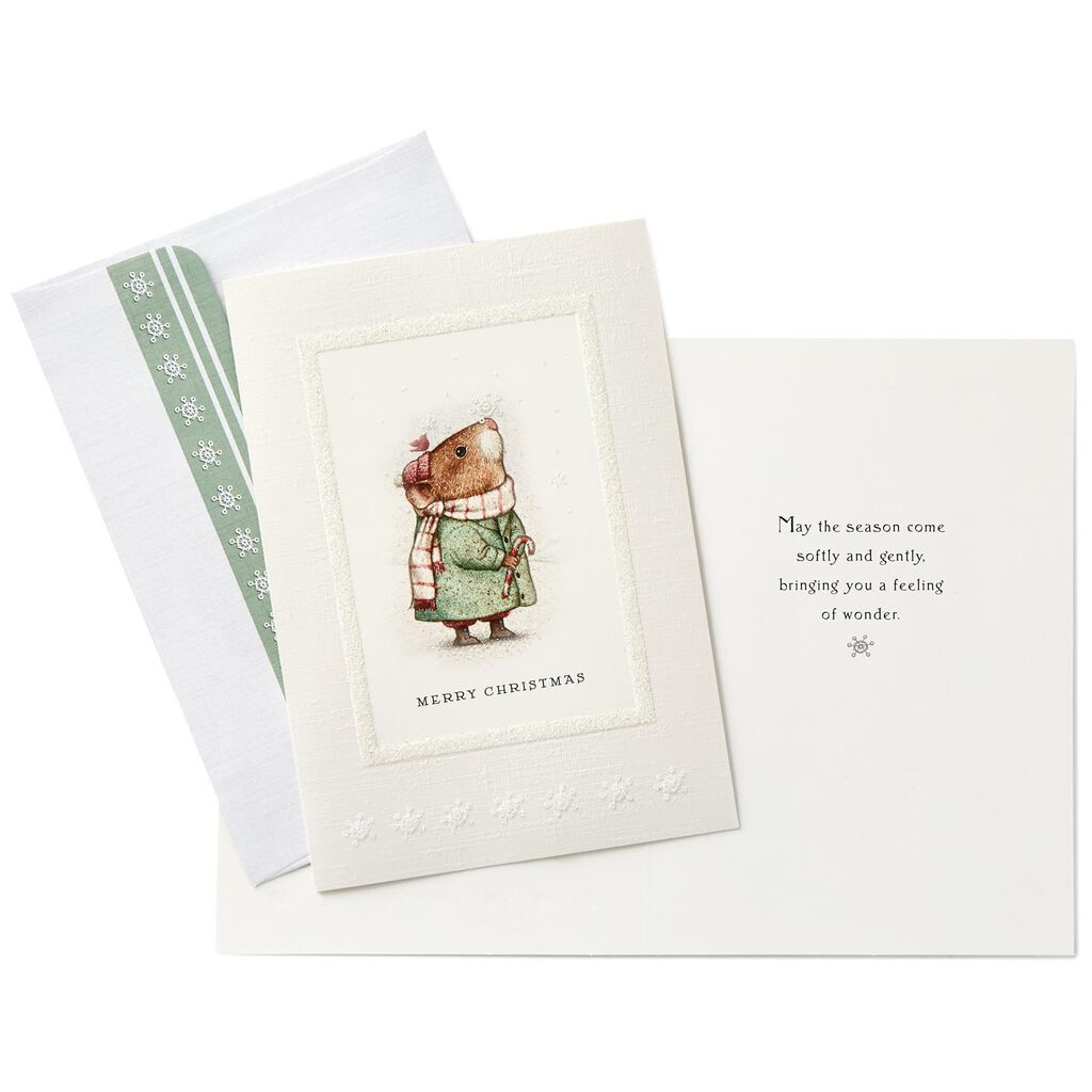 Storybook Mouse Christmas Cards, Box of 16 - Boxed Cards - Hallmark