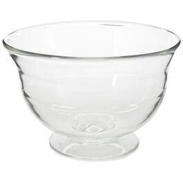 Glass Footed Bowl, , large