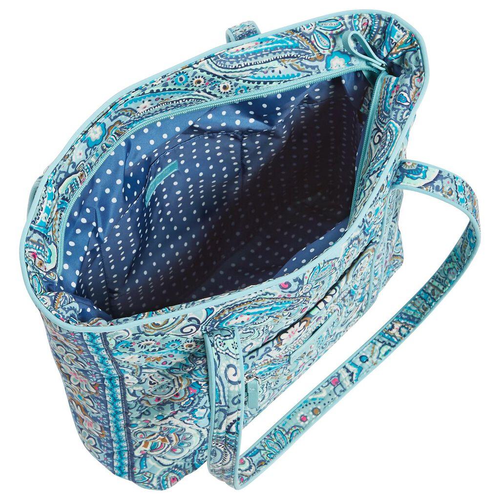 Vera Bradley Iconic Small Tote Bag in Daisy Dot Paisley - Handbags ... b4e1570231073