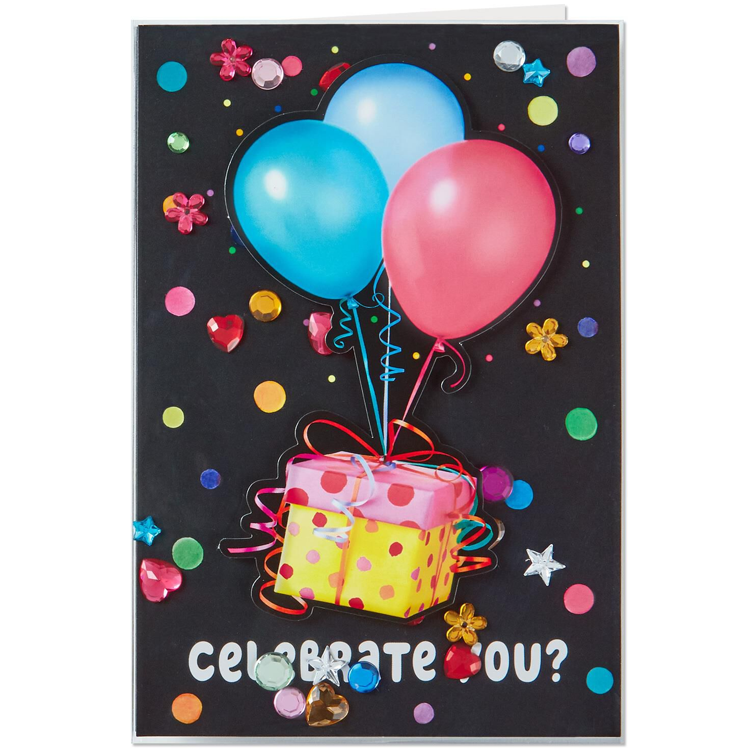 Time To Celebrate You Musical Birthday Card