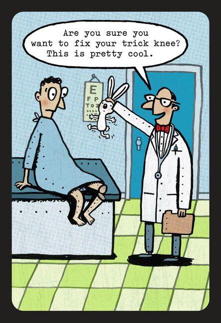Old Age Trick Knee Funny Birthday Card Greeting Cards Hallmark