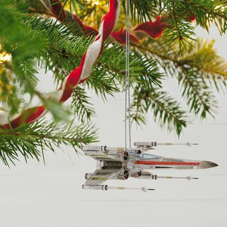 Star Wars™ X-Wing Starfighter™ Sound Ornament With Light,