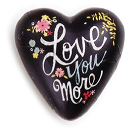 Love You More Art Heart Token, 1.5x1.5, , large