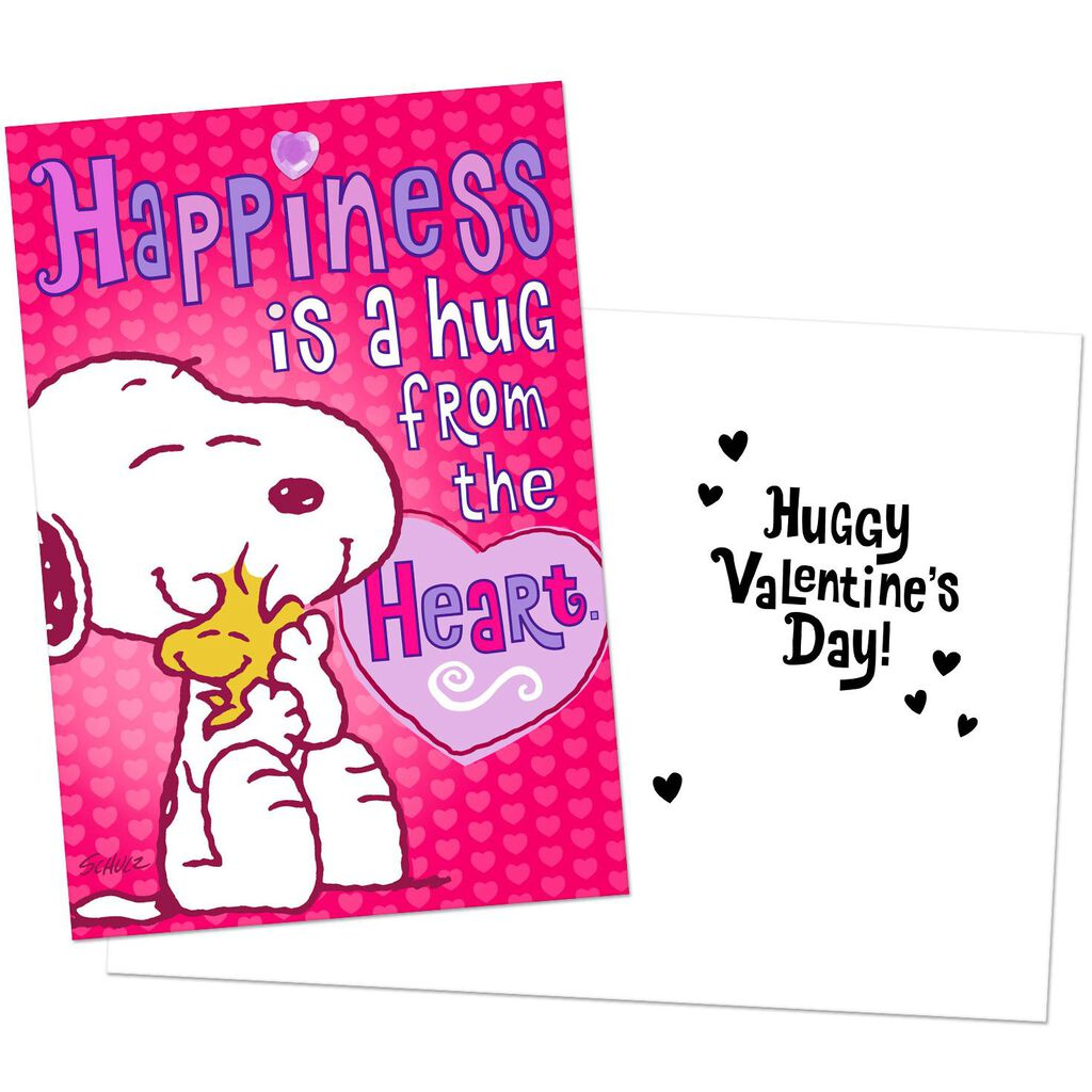 Peanuts® Happiness and Love Valentine's Day Cards, Pack of 6