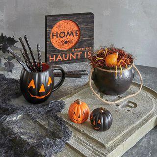 Halloween Kitchen Decor Gift Set,