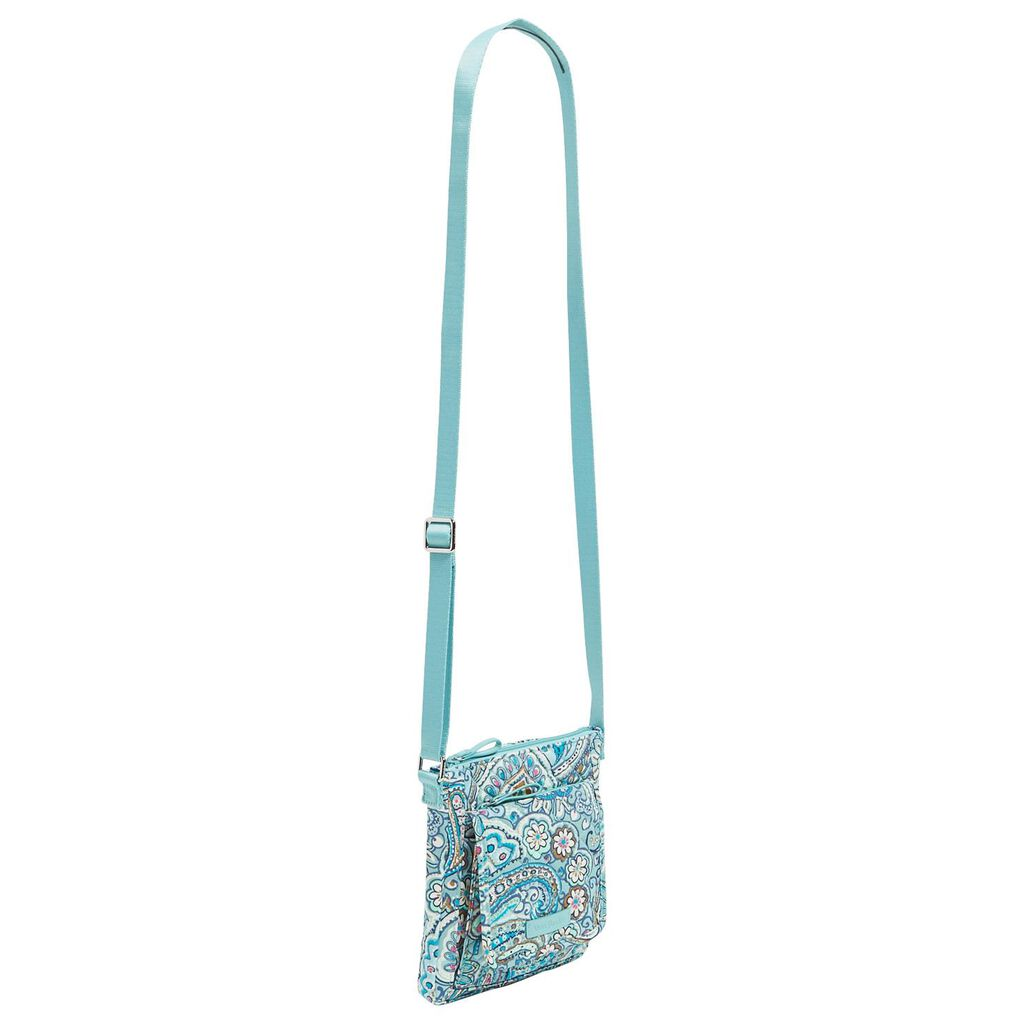 ede766f78d3 ... Vera Bradley Iconic RFID Mini Hipster in Daisy Dot Paisley ...