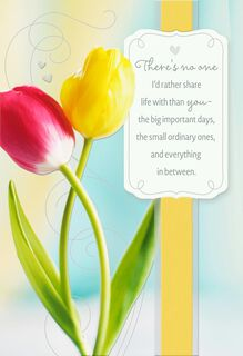 For My Love, My Friend Religious Easter Card,