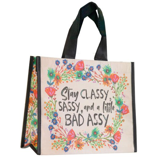 Natural Life Stay Classy Recycled Gift Bag 10dbf6c955b02