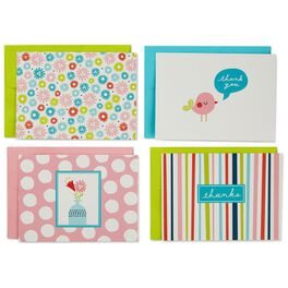 Pretty in Pink Assortment Blank Note Cards, Box of 40, , large