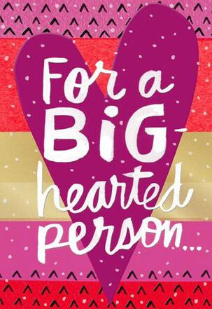 Big-Hearted Family Valentine's Day Card