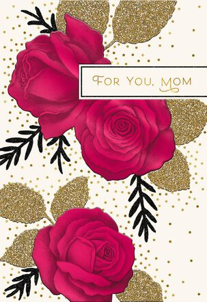 Sweet Wishes Valentine's Day Card for Mom