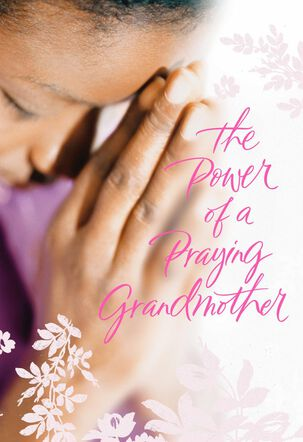Praying Grandmother Birthday and Thank You Card