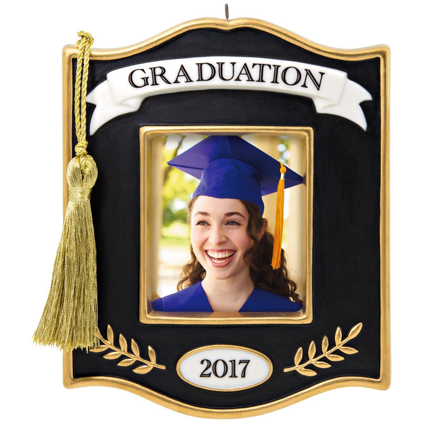 Congrats, Grad! 2017 Photo Holder Ornament - Sale - Hallmark