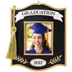 Congrats Grad 2017 Photo Holder Ornament Keepsake