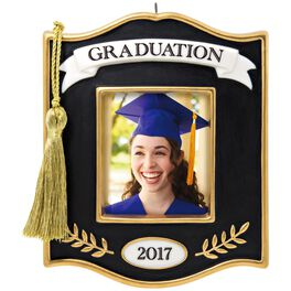 Congrats, Grad! 2017 Photo Holder Ornament, , large