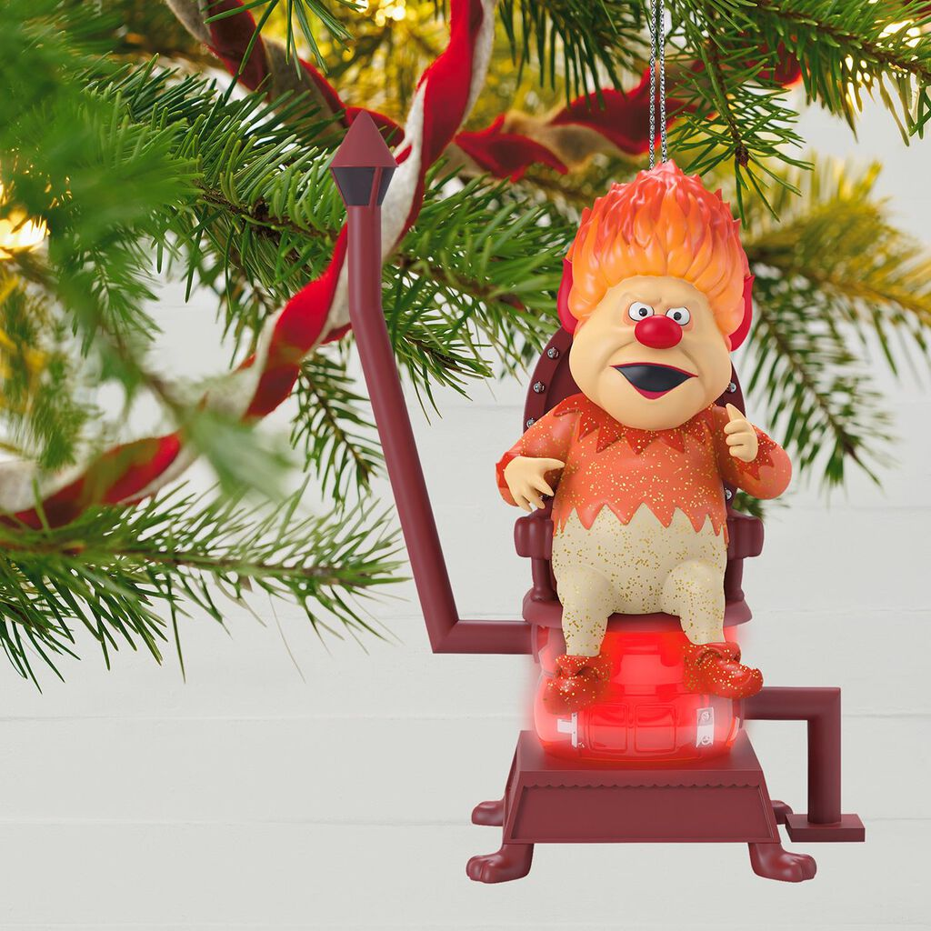 The Year Without a Santa Claus™ He's Mr. Heat Miser! Ornament ...
