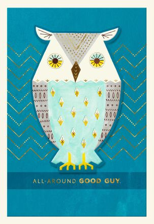 All-Around Good Guy Father's Day Card