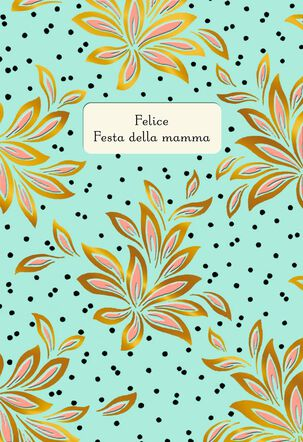 Mother's Day Wishes Italian-Language Card
