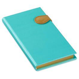 Mint Pleather Slim Journal, , large