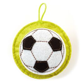 Recordable Soccer Ball Sound Charm Token, , large