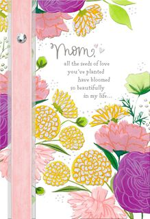 Seeds of Love Religious Mother's Day Card,